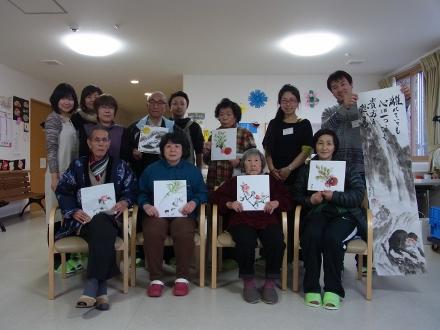201302 水墨画ボランティア 早春 Day1_13