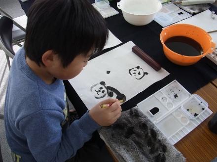 201302 水墨画ボランティア 早春 Day2_02