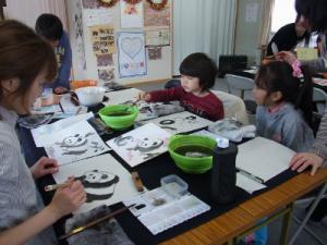 201302 水墨画ボランティア 早春 Day2_07