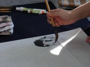 201302 水墨画ボランティア 早春 Day2_10