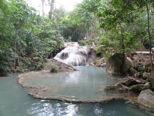エラワンの滝・レベル1