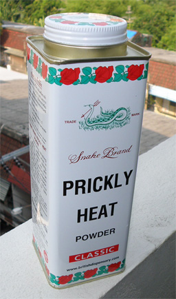 PRICKLY HEAT POWDER(正面)
