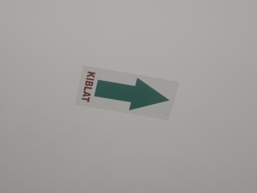 矢印にKIBLATの文字
