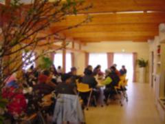 郡山・出張専門足つぼ足もみ士_たけろぐ_富岡町仮設「おだがいさま」3/17お集まりでクッキー食べたり。