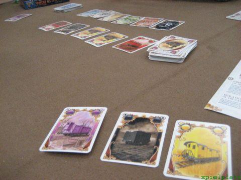 乗車券カードゲーム 20091011