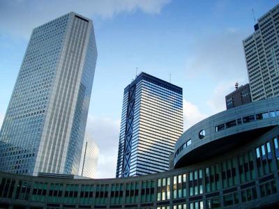 西新宿ビル街20130904
