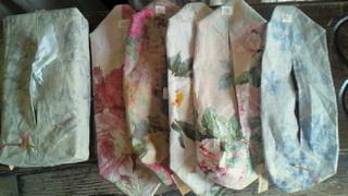 花柄ティッシュボックスカバー