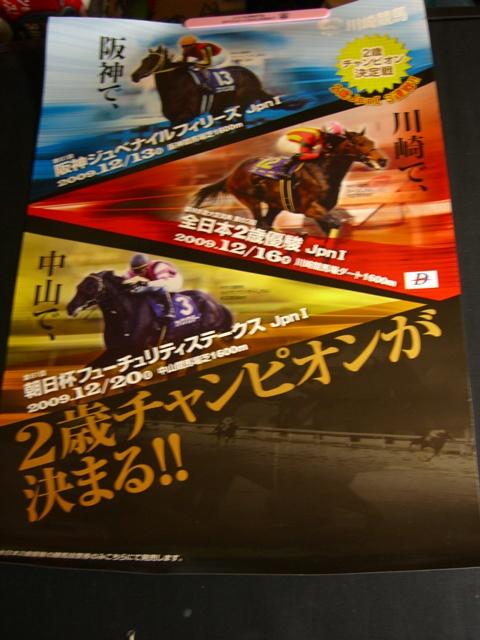 「2009年2歳チャンピオン戦」告知ポスター(川崎競馬)
