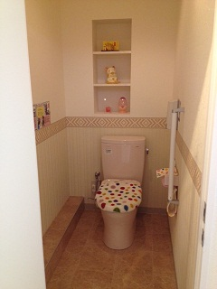 女性専用トイレ完備
