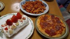 2010 クリスマスの食事