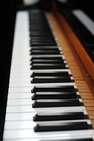 開演前のピアノ
