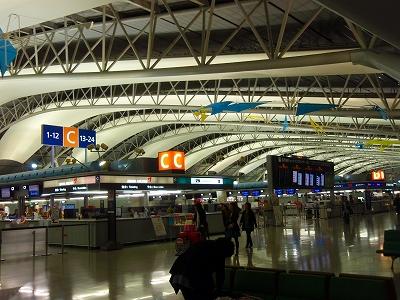 関西空港です