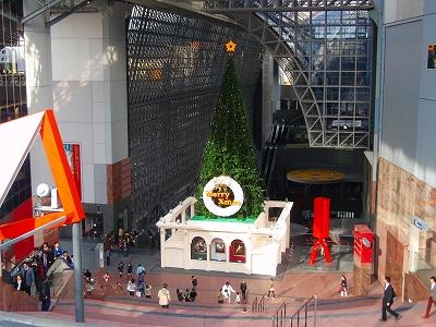 京都駅のクリスマスツリー☆