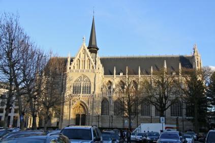 Eglise Notre Dame du Sablon,Brussel - 01
