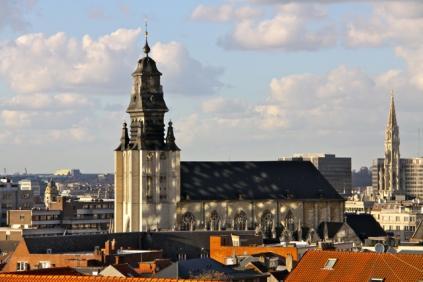 Eglise Notre Dame de la Chapelle,Brussel - 1