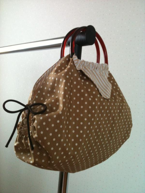 折り紙バッグ横