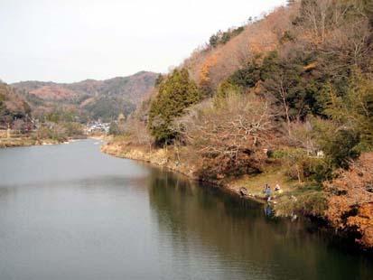 加茂橋上流