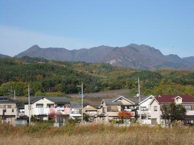 秋の曲岳から黒富士