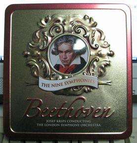 ヨーゼフ・クリップス指揮ロンドン響の缶入ベートーベン交響曲全集