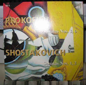 プロコフィエフとショスタコービチのピアノソナタ