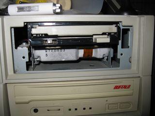 セカンドフロッピィーベイはSCSIハードディスクが入ってる?