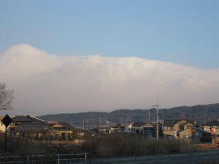 八ヶ岳も雲の中に