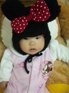 ミニー帽子