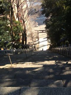 出世の階段上