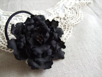 お花ヘアゴム-2