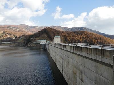 琴川ダム ダム湖(乙女湖)