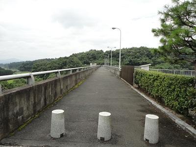 飯田ダム 天端