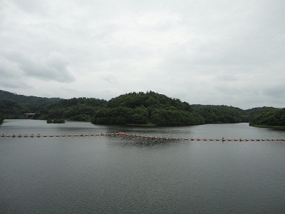 飯田ダム ダム湖