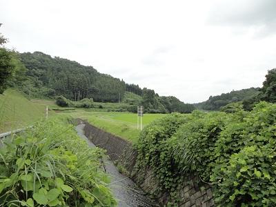 飯田ダム 下流側
