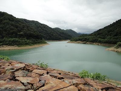 二居ダム ダム湖