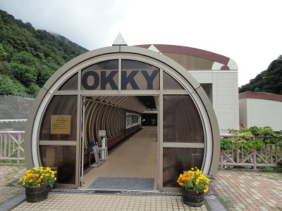 OKKYミュージアム入口