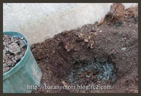 庭づくり 花壇 土作り