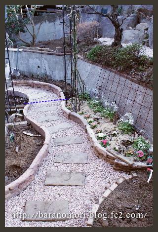 通路 花壇