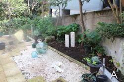 庭づくり テラス前