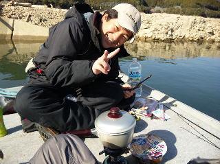 池原ダム初釣り3