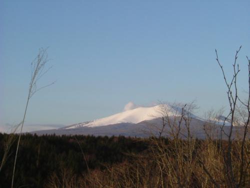 09.12.16入渓地点からの樽前山