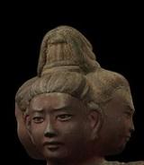 阿修羅像 頭部