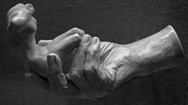 rodin hand of rodin
