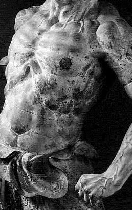 興福寺 金剛力士像 吽形トルソ