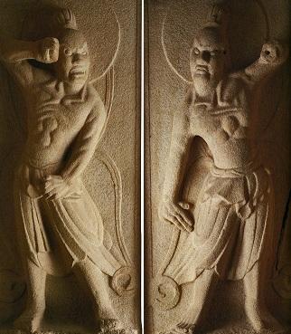 韓国(石窟庵)の金剛力士像