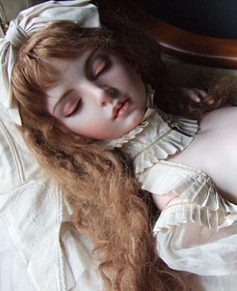 恋月姫作:球体関節人形