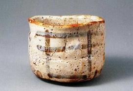 志野茶碗『銘:卯花墻』 国宝