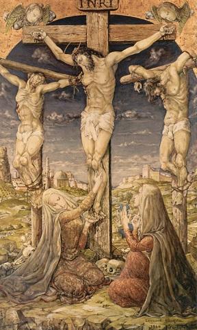 藤田嗣治(レオナール・フジタ)キリストの磔刑
