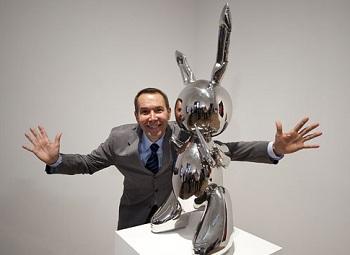 ジェフ・クーンズ Jeff Koons 画像