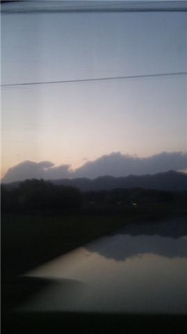 夕方の積雲