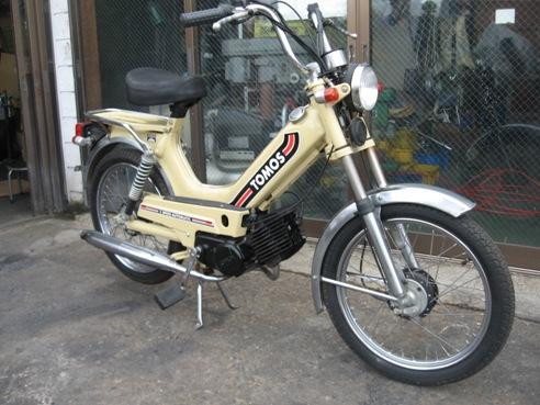 中古バイク オートバイ トモス 希少車
